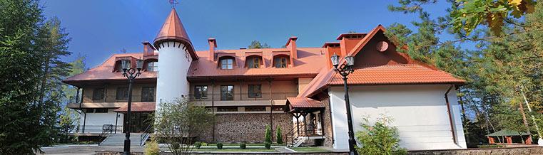 The hotel complex Plavno